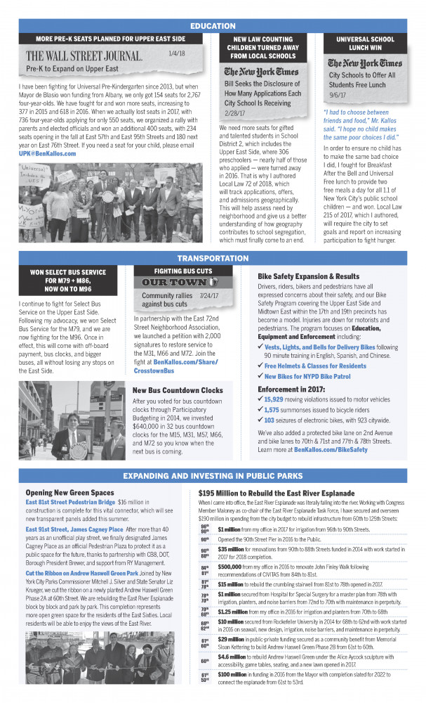 Newsletter Second Page