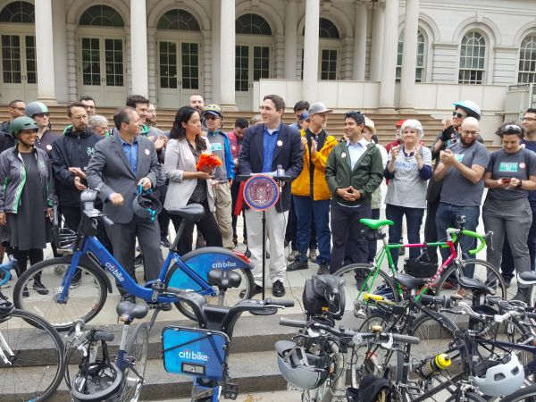 Bike to Work Day  Rally at City Hall