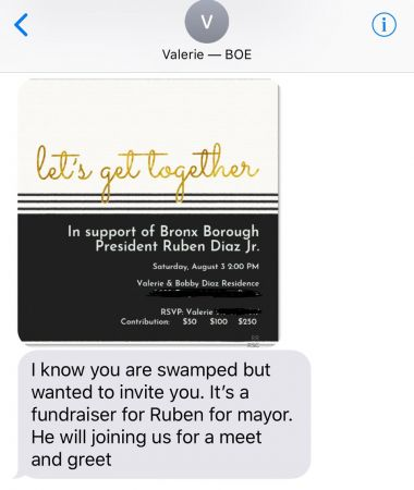 Upper East Side councilman calls for investigation after BOE spokeswoman sends errant political text to Advance reporter