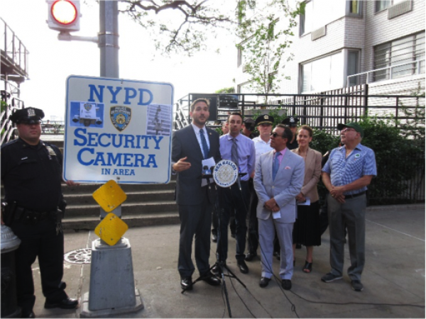 Council Members Kallos and Powers Invest a Quarter Million-Dollar Investment in NYPD Security Cameras