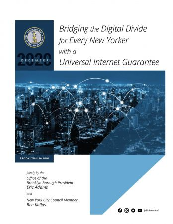 Bridging the Digital Divide for Every New Yorker with a Universal Internet Guarantee
