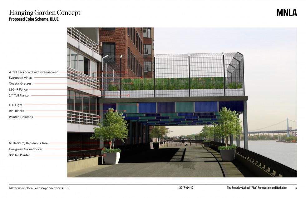 The Brearley School Overhang Above Esplanade Renovation and Design Presentation