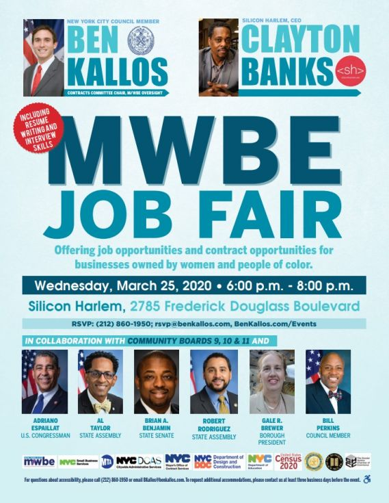 MWBE Job Fair Flyer
