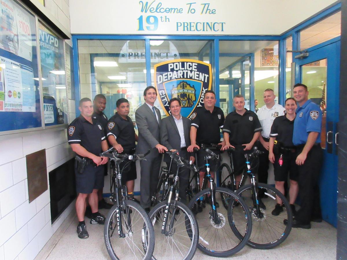 Bike Safety New York City Council Member Ben Kallos